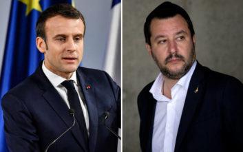 Η ευχή του Σαλβίνι για τους Γάλλους και τον… «πολύ κακό πρόεδρο»