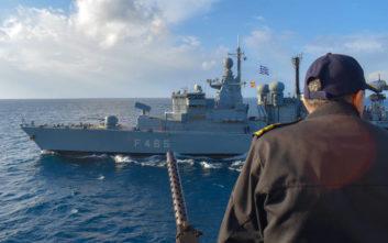 Με «Αστραπή» και «Βροντή» απαντά το Πολεμικό Ναυτικό στην Τουρκία και το Barbaros