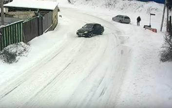 Η οδήγηση στο χιόνι δεν είναι απλή υπόθεση