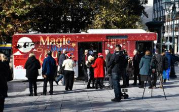 Τα MISKO Ολικής Άλεσης και το Diabetes Magic Bus έφεραν τα πιο μαγικά Χριστούγεννα