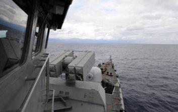 Υπαξιωματικός του Πολεμικού Ναυτικού τραυματίστηκε στη φρεγάτα «Ναβαρίνον»