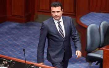 Ζάεφ: Θα χαρούμε να υποδεχθούμε τον Τσίπρα στα Σκόπια
