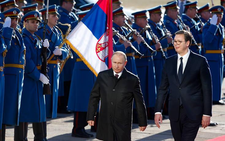 Πούτιν: Οι ενέργειες του Κοσσυφοπεδίου εγκυμονούν κινδύνους αποσταθεροποίησης