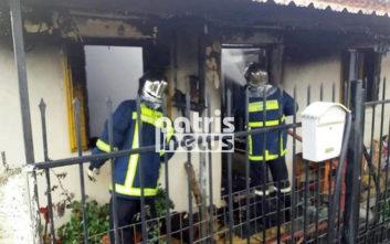 Κινδύνευσαν δυο ηλικιωμένες γυναίκες από φωτιά στα Καβάσιλα