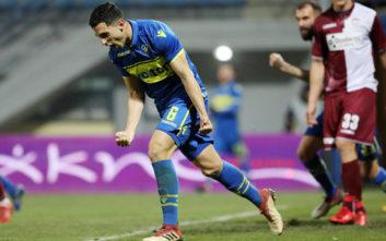 «Τρελό» ματς στην Τρίπολη, την πρόκριση ο Αστέρας με 5-3 τη Λάρισα