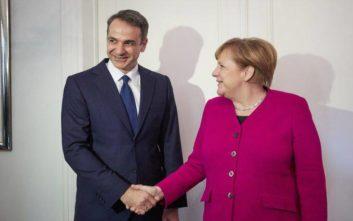 Μητσοτάκης σε Μέρκελ: Για αυτό δεν θα ψηφίσουμε τη Συμφωνία των Πρεσπών