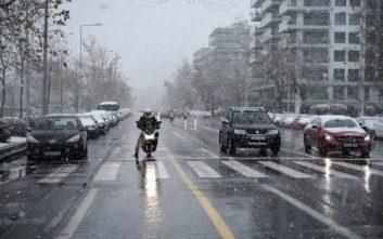 Καιρός: Παγωνιά και χιόνια από σήμερα, η Τετάρτη η πιο κρύα μέρα της εβδομάδας