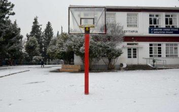 Χιονοπτώσεις στη δυτική Μακεδονία, προβλήματα στο επαρχιακό οδικό δίκτυο