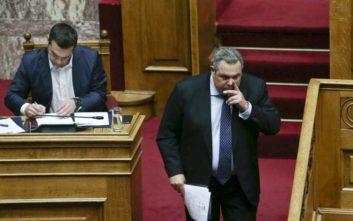 Καμμένος: Εάν υπογράψει τη Συμφωνία ο Παυλόπουλος συμμετέχει σε συνταγματική εκτροπή