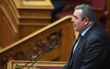 Καμμένος: Να παραδώσει τώρα την έδρα ο Παπαχριστόπουλος και μετά και ο Κουίκ