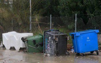 Πλημμύρισαν περιοχές της Ανατολικής Μακεδονίας και Ξάνθης