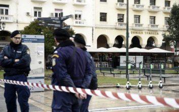 Φάρσα το τηλεφώνημα για βόμβα σε τράπεζα της Θεσσαλονίκης