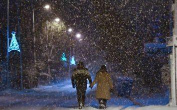 Χιόνια, παγετός και θυελλώδεις άνεμοι