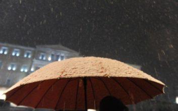 Η… «παγωμένη» σύμπτωση με τον χιονιά στην Αθήνα