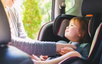 Ο απαράβατος κανόνας ασφαλείας για το παιδικό κάθισμα