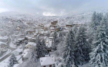 Έκλεισε το χιονοδρομικό κέντρο στο Σέλι Ημαθίας λόγω χιονοθύελλας