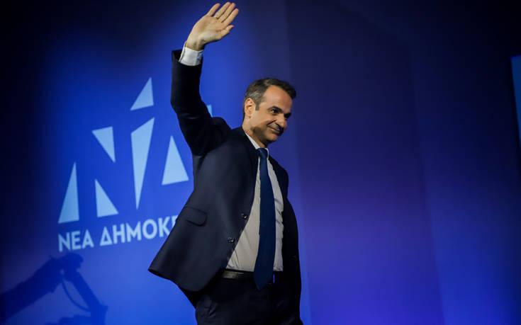 Εκλογές 2019: Ομιλία Κυριάκου Μητσοτάκη στο λιμάνι της Θεσσαλονίκης
