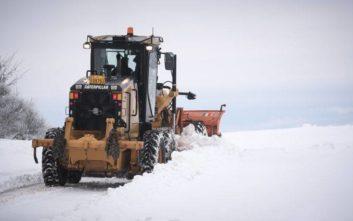 Σχεδόν αποκλεισμένο στα χιόνια χωριό του Κισσάβου