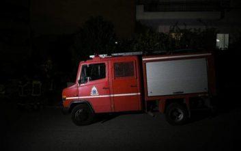 Φωτιά τα ξημερώματα σε εγκαταλελειμμένο σπίτι στον Εύοσμο Θεσσαλονίκης