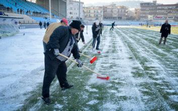 Οι άνθρωποι των «Ζωσιμάδων» βγήκαν νικητές με τον χιονιά