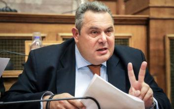Η δήλωση του Καμμένου που φέρνει τα πάνω - κάτω: Δεν είμαι απερχόμενος υπουργός