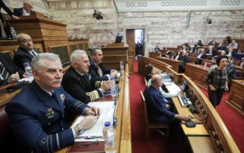 Αντιπαράθεση στη Βουλή για την τροπολογία αναβάθμισης των F-16