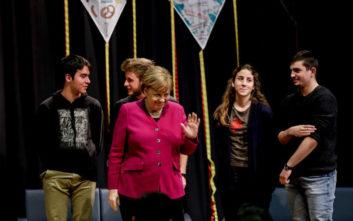 Η επίσκεψη της Άνγκελα Μέρκελ στη Γερμανική Σχολή