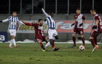 H Λάρισα σκόρπισε με 3-0 τον Απόλλωνα Σμύρνης
