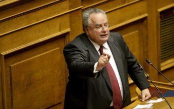 Νίκος Κοτζιάς: Ας κοιτάξει η κυβέρνηση τα σοβαρά εθνικά θέματα