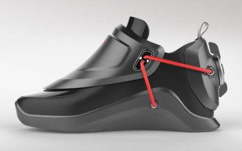 Αυτά τα παπούτσια… δένονται μόνα τους