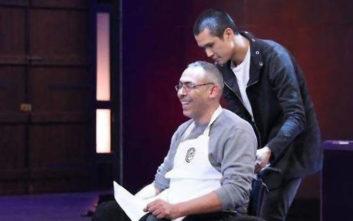 Ο διαγωνιζόμενος με το αναπηρικό αμαξίδιο που συγκίνησε τους κριτές του MasterChef