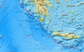 Σεισμός τώρα στο Γύθειο