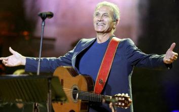 Ο Γιώργος Νταλάρας θα δώσει συναυλία στα Τίρανα τον Ιούνιο