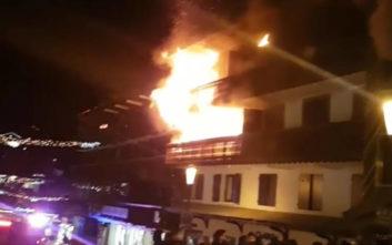 Πυρκαγιά σε κτίριο στις γαλλικές Άλπεις, δύο νεκροί