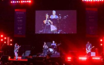 Οι Red Hot Chili Peppers θα δώσουν συναυλία μπροστά από τις Πυραμίδες της Γκίζας