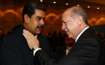 Ερντογάν προς Μαδούρο: Αδελφέ μου, στάσου στο ύψος σου, είμαστε στο πλευρό σου