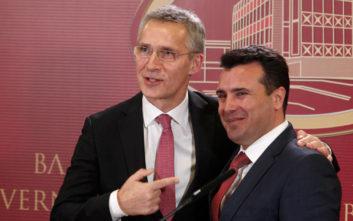 Η ΠΓΔΜ οδεύει προς ένταξη στο ΝΑΤΟ, ο Ζάεφ επιμένει να την αποκαλεί «Μακεδονία»