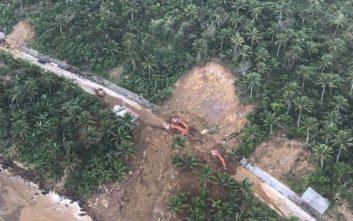 Στους 126 οι νεκροί από τις κατολισθήσεις στις Φιλιππίνες
