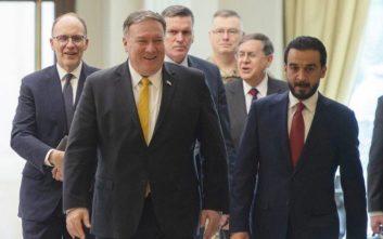 Ξαφνική επίσκεψη Πομπέο στο Ιράκ