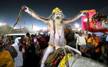Το τεράστιο φεστιβάλ της Ινδίας με τα 120 εκατομμύρια προσκυνητές