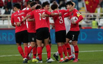 Η ενδεκάδα της Νότιας Κορέας ήταν γεμάτη Κιμ