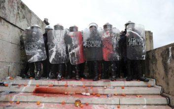 Προφυλακίστηκε κατηγορούμενος για τα επεισόδια στο συλλαλητήριο για τη Μακεδονία
