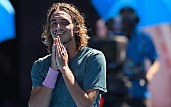 Ο Στέφανος Τσιτσιπάς ανέβηκε στη 12η θέση στον κόσμο