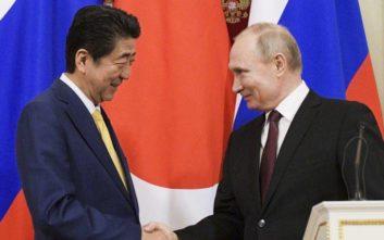 Ρωσία και Ιαπωνία διαπραγματεύονται για συμφωνία ειρήνης