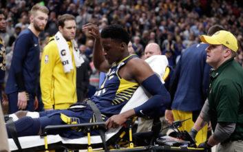 Σοκαριστικός τραυματισμός στο NBA, μεγάλη ατυχία για Ολαντίπο