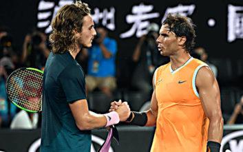 Τσιτσιπάς: Στόχος ζωής να κερδίσω τον Ναδάλ στο Roland Garros