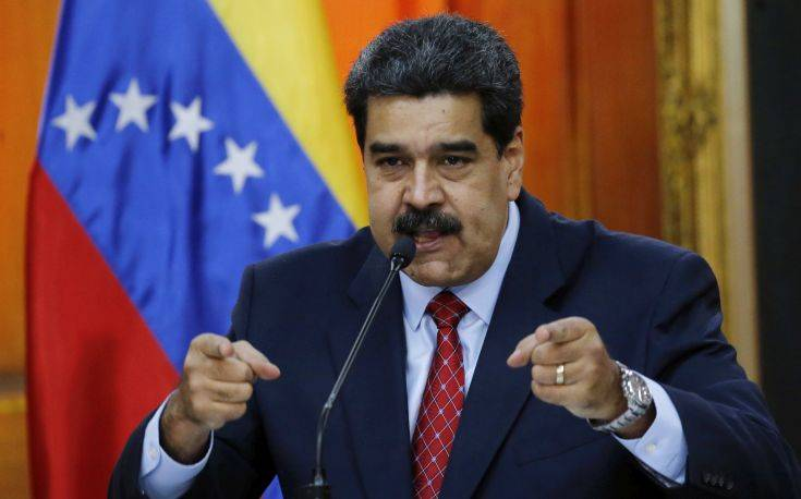 Οι ΗΠΑ κατηγορούν τον Μαδούρο ότι λεηλατεί τον πλούτο της Βενεζουέλας