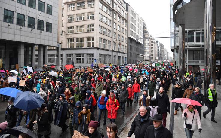Γενική απεργία θα παραλύσει την Τετάρτη το Βέλγιο