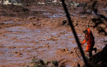 Δραματική αύξηση των νεκρών από την κατάρρευση φράγματος στη Βραζιλία