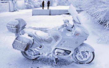 Πολικό ψύχος στις ΗΠΑ με θερμοκρασίες έως 51 βαθμών κάτω από το μηδέν
